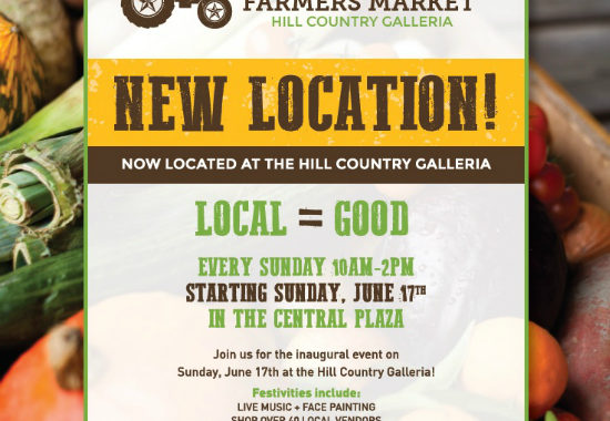 Lone Star Farmers Market Grand Opening at Hill Country Galleria